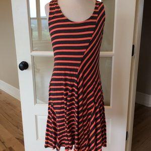 Monteaus dress striped knit fits girls 12 swing